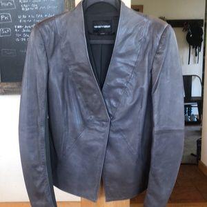 Emporio Armani Lambskin Leather Jacket